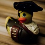 Canard vibrant I Rub My Duckie Pirate
