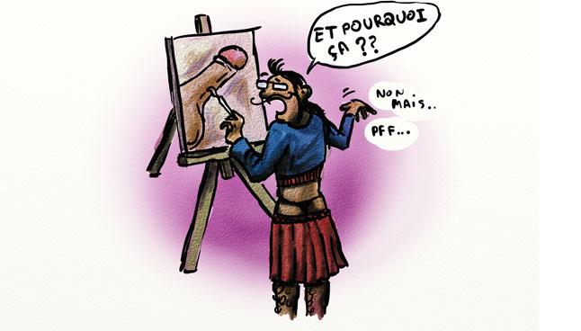 peintre gay