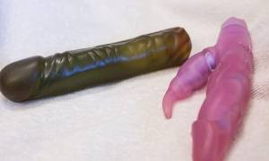 Sextoys en jelly désagrégés
